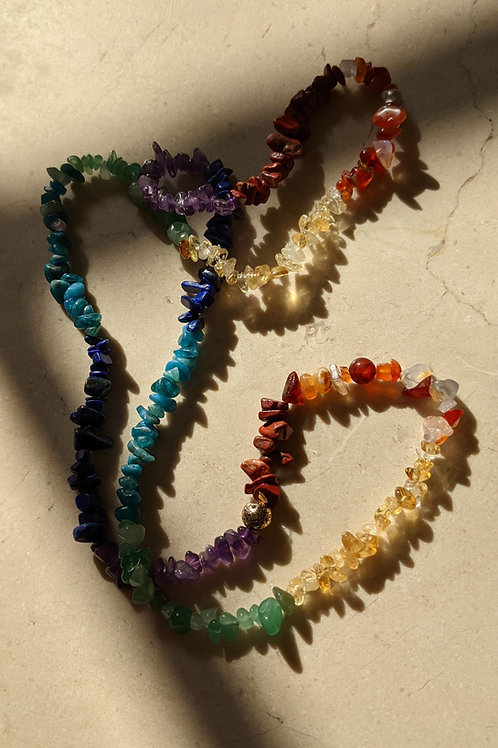 Chakra Garland Necklace