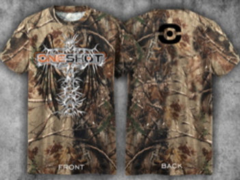 ONESHOT T-shirt (Realtree & Cross Design)