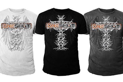 ONESHOT T-shirt (Cross design)