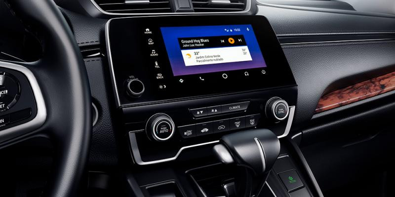 Interface intuitiva Android Auto™