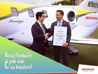 HondaJet obtém Certificado de Tipo brasileiro