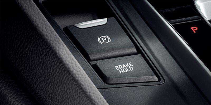 Freio de Estacionamento Eletrônico com Brake Hold