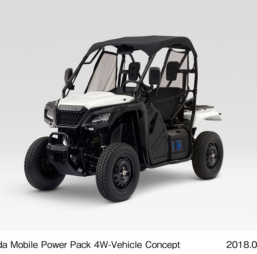 Honda Mobile Power Pack 4W-Vehicle Concept