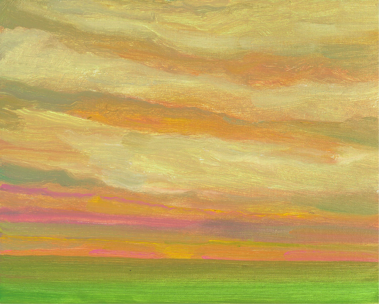 Backlit Sky