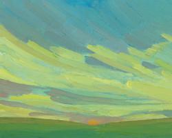 Yellow Ridge Sky