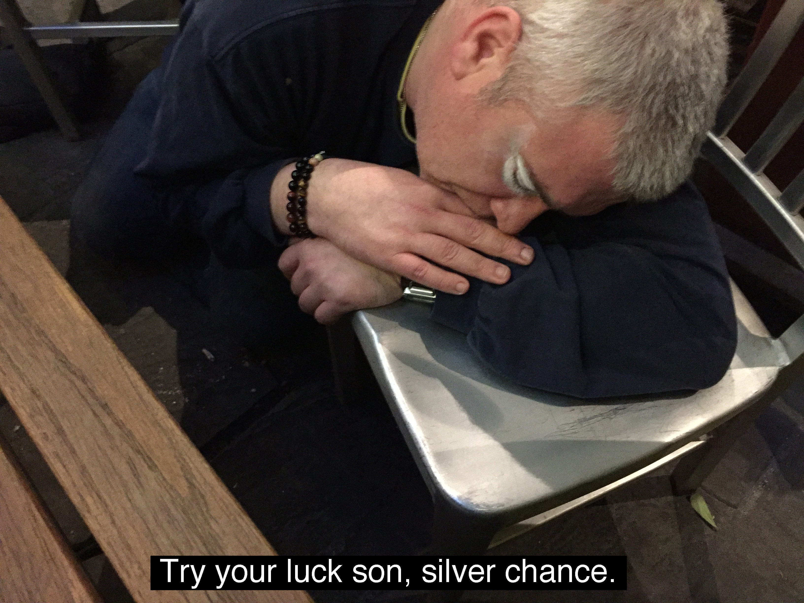 Silver chance text