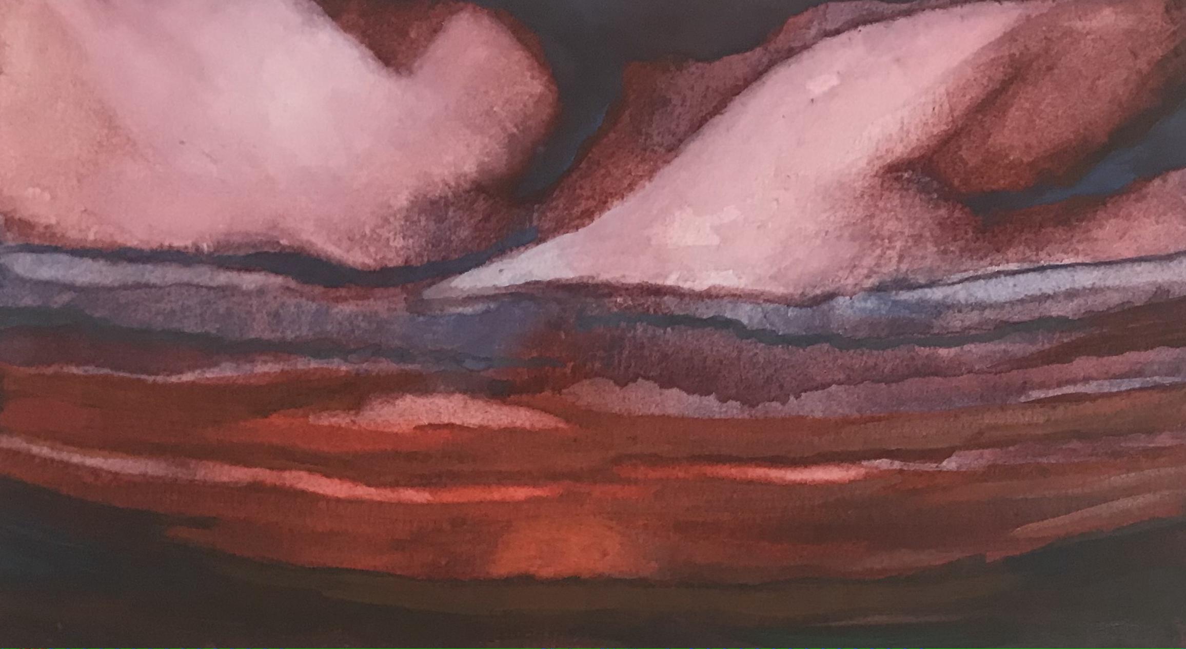Blood Red Landscape