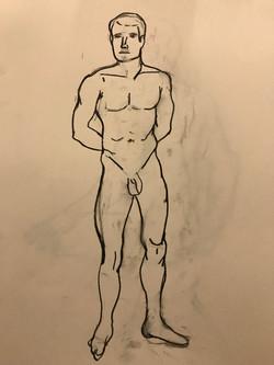 Zac Frontal Standing