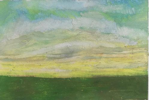 Light Yellow Horizon