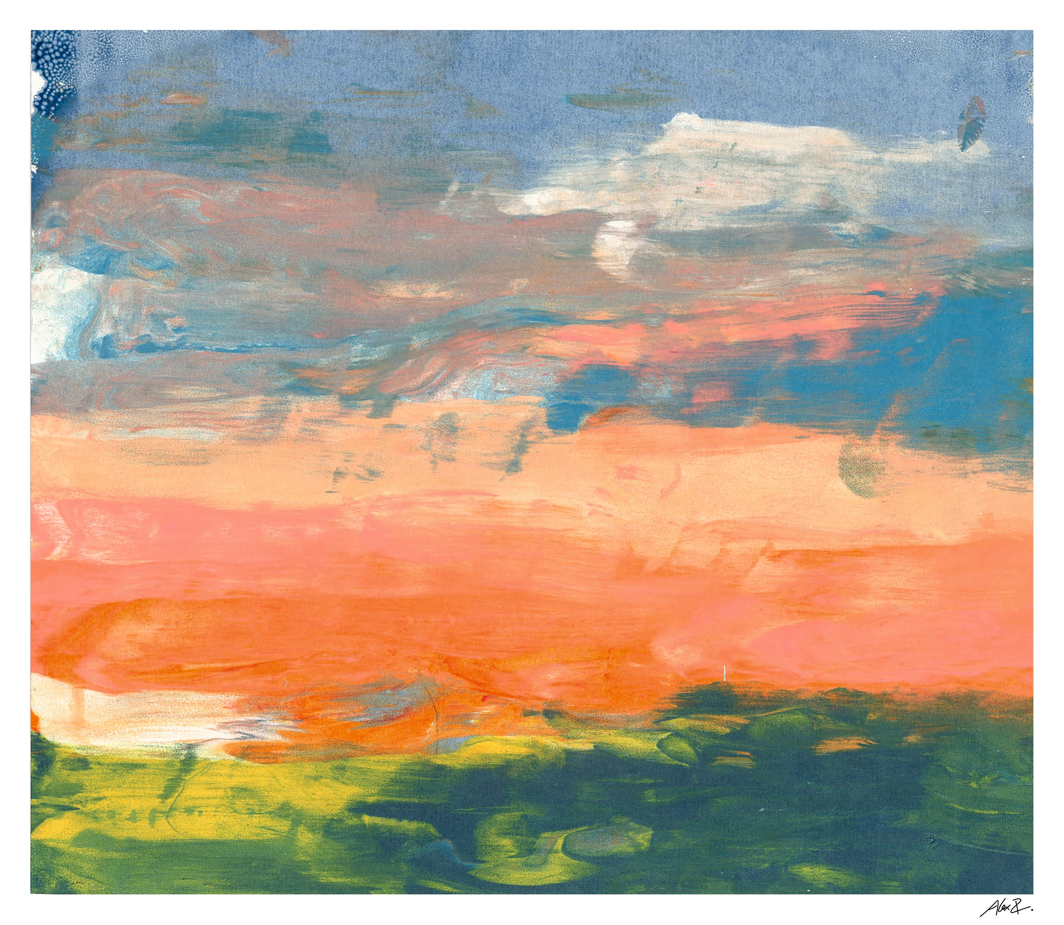 Peach Horizon
