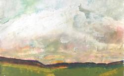 Muted Rainbow Landscape
