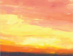 Pale Horizon Sky
