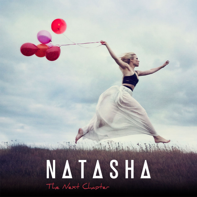 The Next Chapter | Album cover for Natasha Bedingfield
