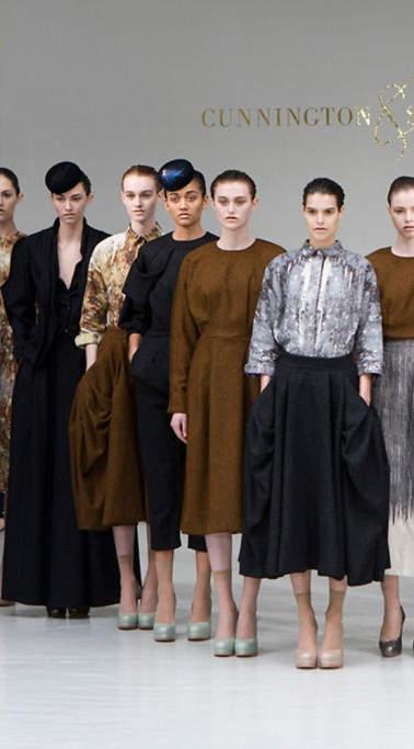 Paris Fashion Week Cunningham & Sanderson