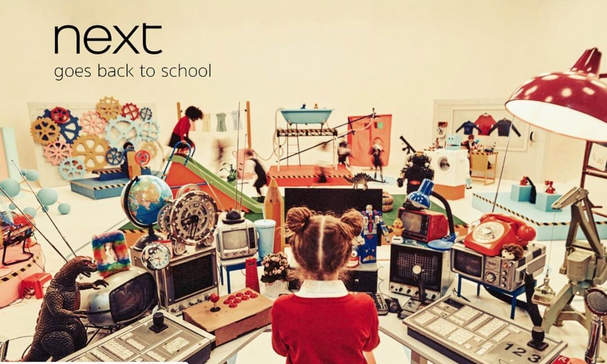 Next Official Back To School '18 Campaign | Photography by Ian Boddy