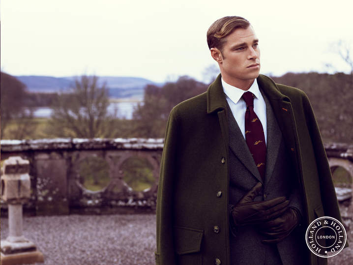 Holland & Holland AW15 Campaign   Photographed by Yuval Hen