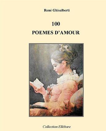 100 poèmes d'Amour - René Ghisalberti
