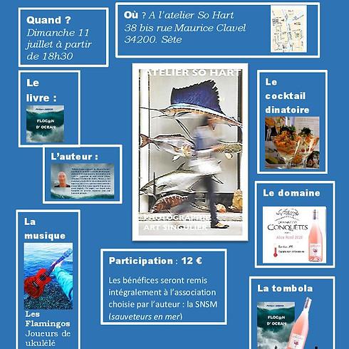 Dédicaces de Philippe Jardon - Flocon d'océan