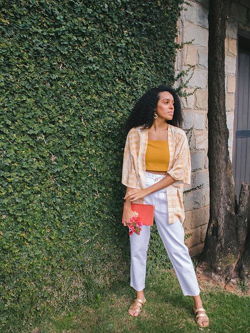 Kimono Karin Amarelo