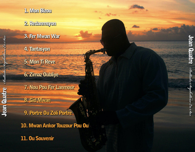 Ballades Seychelloise en Sax Back Cover