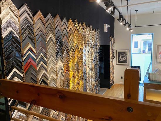 Barber Art + Framing Showroom | Framing Options