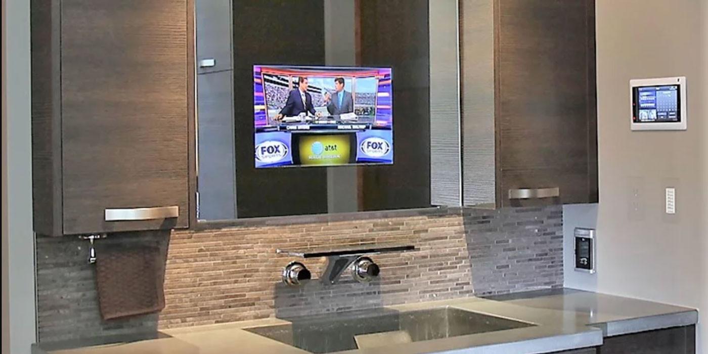 Tech Mirror Telivision Screen