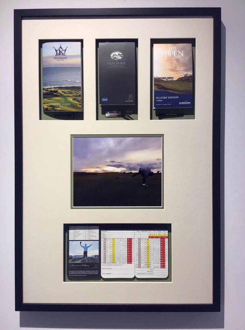 Barber Art + Framing | Framed Golf Memorabilia