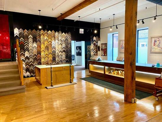 Barber Art + Framing Showroom
