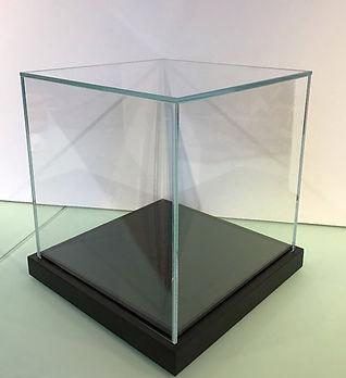 UV Glass Display Case Box
