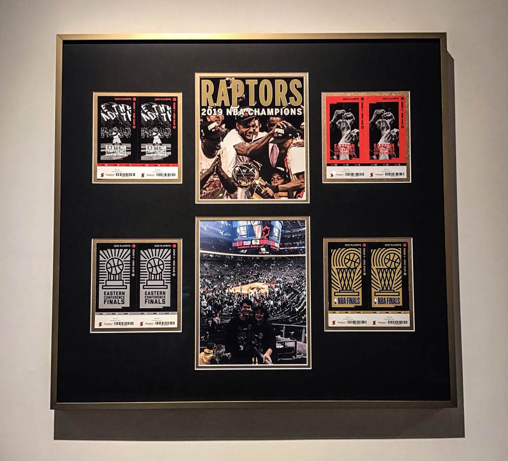 Barber Art + Framing | Toronto Raptors Memorabilia