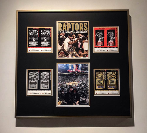 Barber Art + Framing | Toronto Raptors Memorabilia