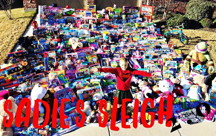 We are gearing up for another year! _Last year Sadie had an amazing idea to do a toy drive after a c