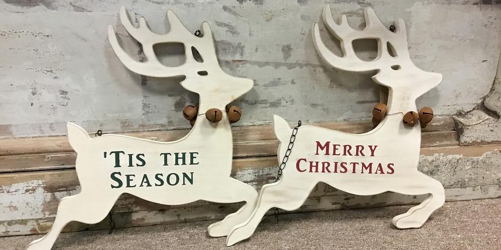 Custom Holiday Arrow Hanger Workshop