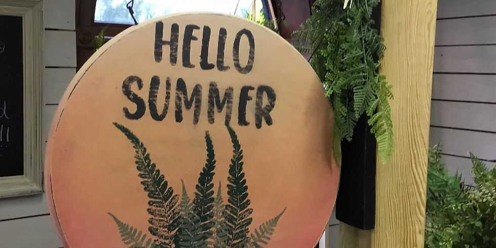 Hello Summer Sign Make & Take