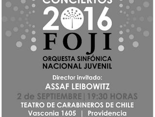 Sinfónica Nacional Juvenil celebrará 7° concierto de Temporada FOJI