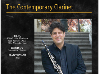"""The Contemporary Clarinet"" is available on iTunes"