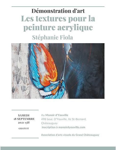 Démonstration de Stéphanie Fiola page 1.