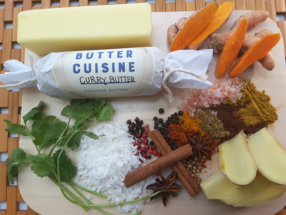 Curry Butter elevates the flavor of your Vegetables and Proteins instantly!