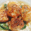 Seared Sea Scallops Mediterranean
