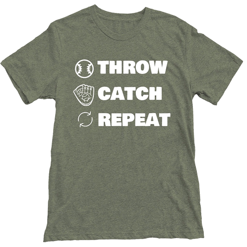Play Catch Repeat T-shirt