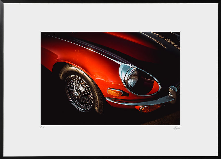 Tirage Photographique - Jaguar E-Type V12 - Studio Minh-Son