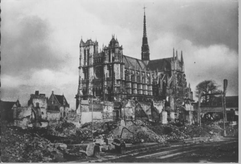 La cathédrale d'Amiens pendant la Guerre