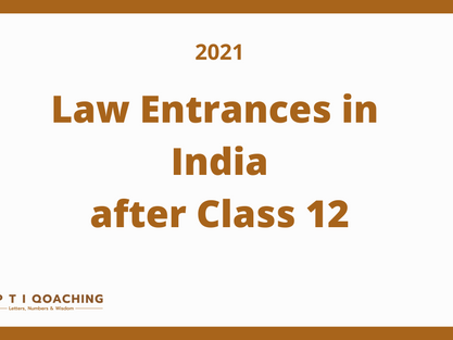 Entrance Exam List for 5 Year Law after 12th Decoded for 2021