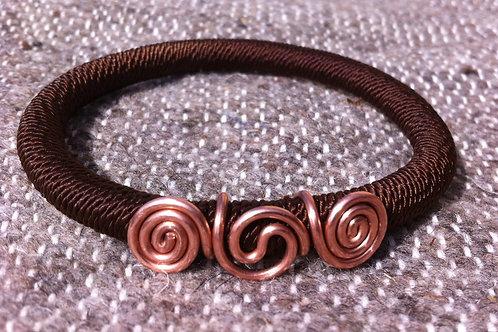 Plasma triskelion bracelet