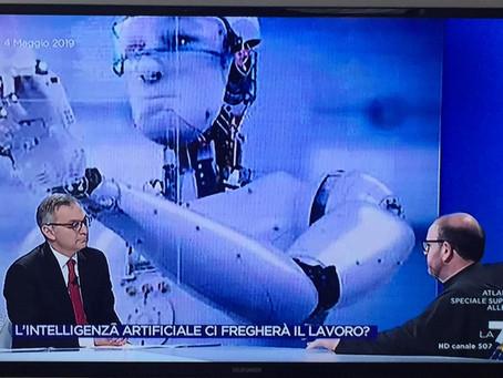 Le incognite dell'intelligenza artificiale - Omnibus LA7