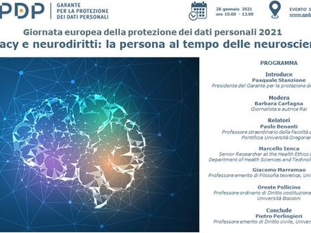 I neurodiritti al centro della Giornata europea della protezione dati