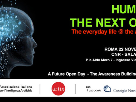 HUMANS, THE NEXT ONES - CNR 22 novembre 2017