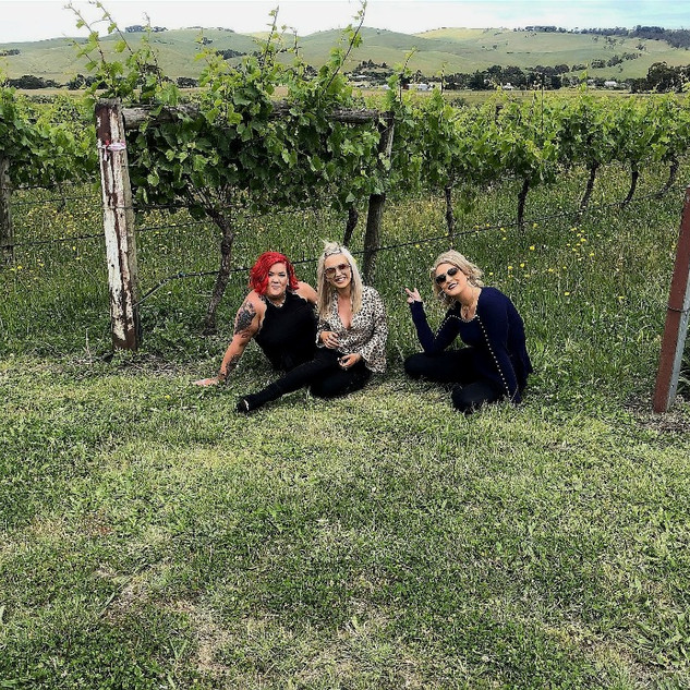 Content in the vineyard