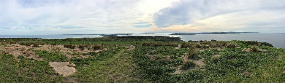 View of Phillip Island from Cape Woolama