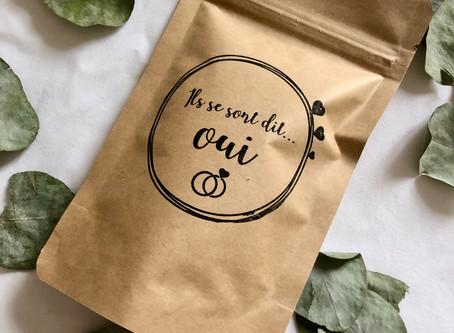 Cadeau personnalisé mariage